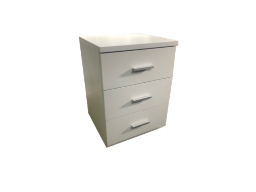 Hugo 3 Drawer Bedside