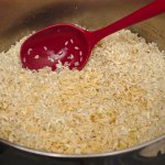 Rice, puffed and golden