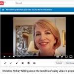 Christine talks video