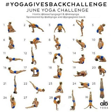 Yoga Gives Back Challenge