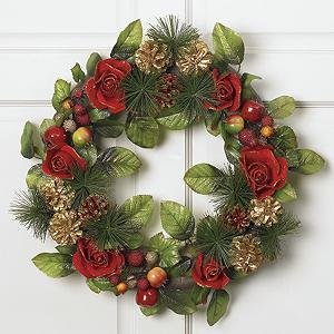Top Christmas Wreath Ideas   Christmas Celebration   All about Christmas src  https   www designswan com archives 20 beautiful christmas wreath  decorating ideas html