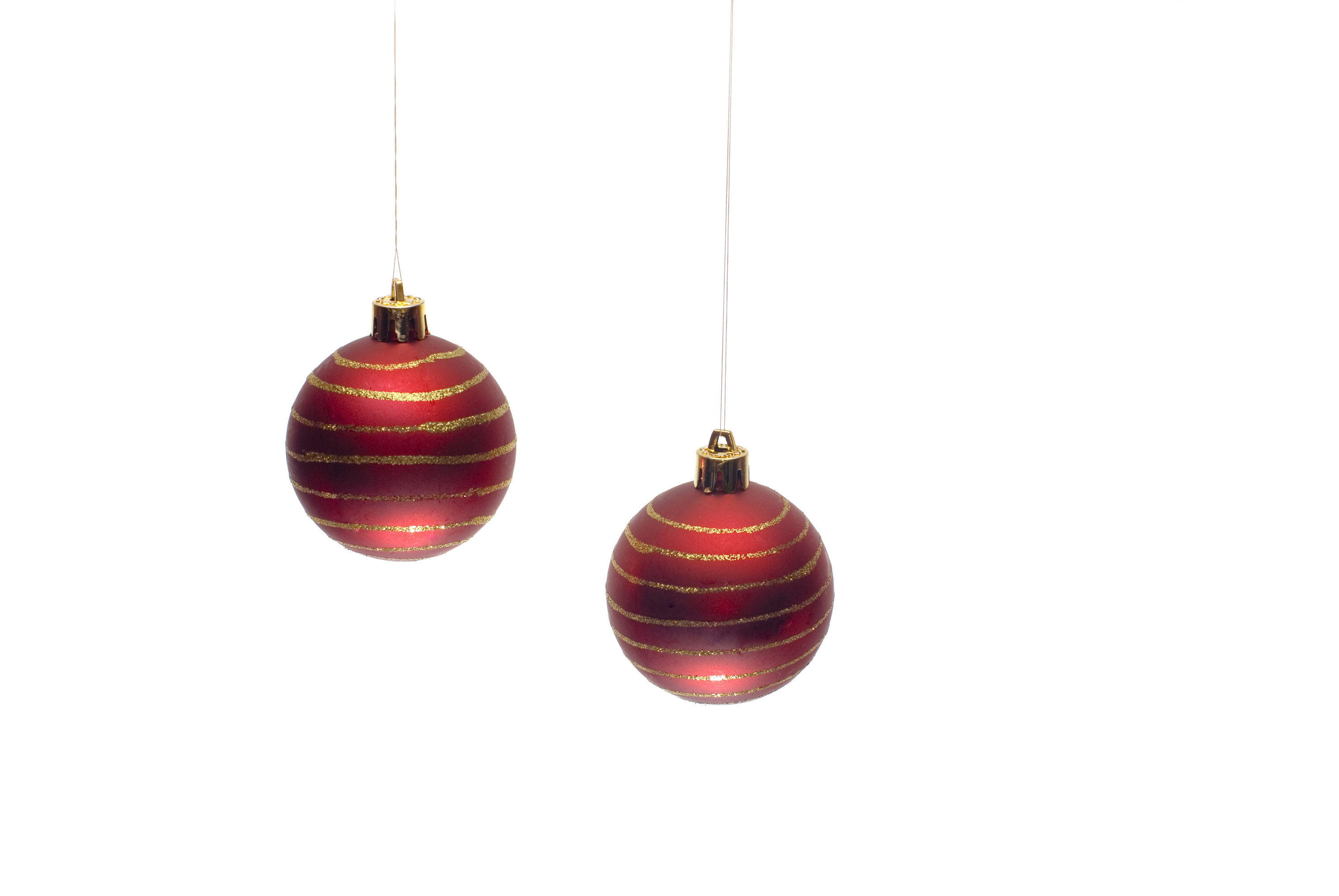Fullsize Of Red Christmas Ornaments