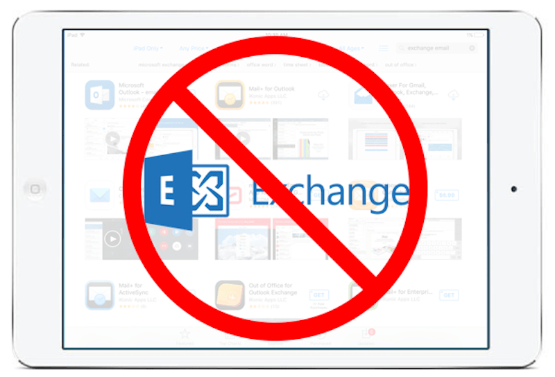 Why do all Exchange email apps for iOS suck?
