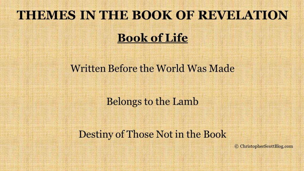 The Book of Life in the Book of Revelation