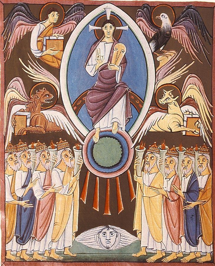 John Taken to Heaven to See 24 Elders (R