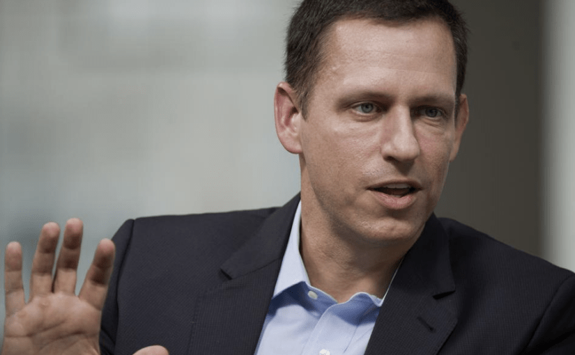 Every entrepreneur should be building a monopoly: Peter Thiel