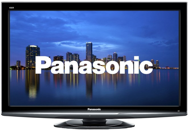 A Panasonic TV