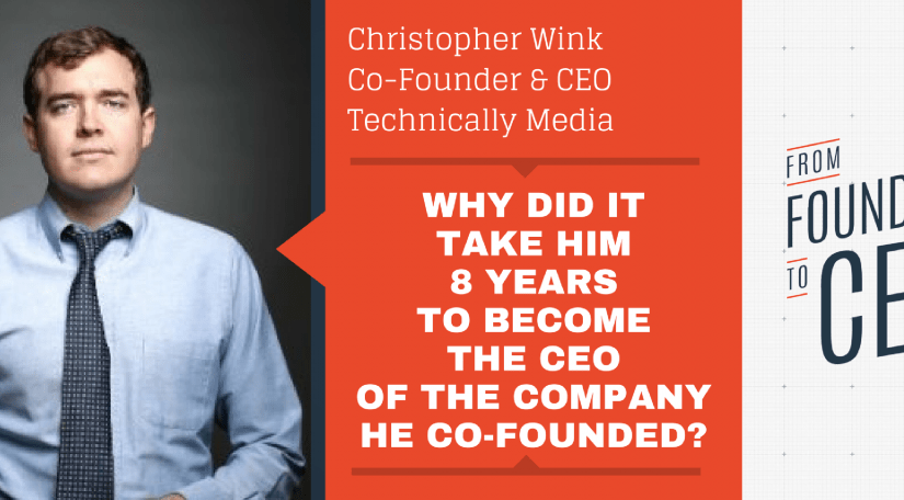 Listen to my interview on the 'From Founder to CEO' podcast