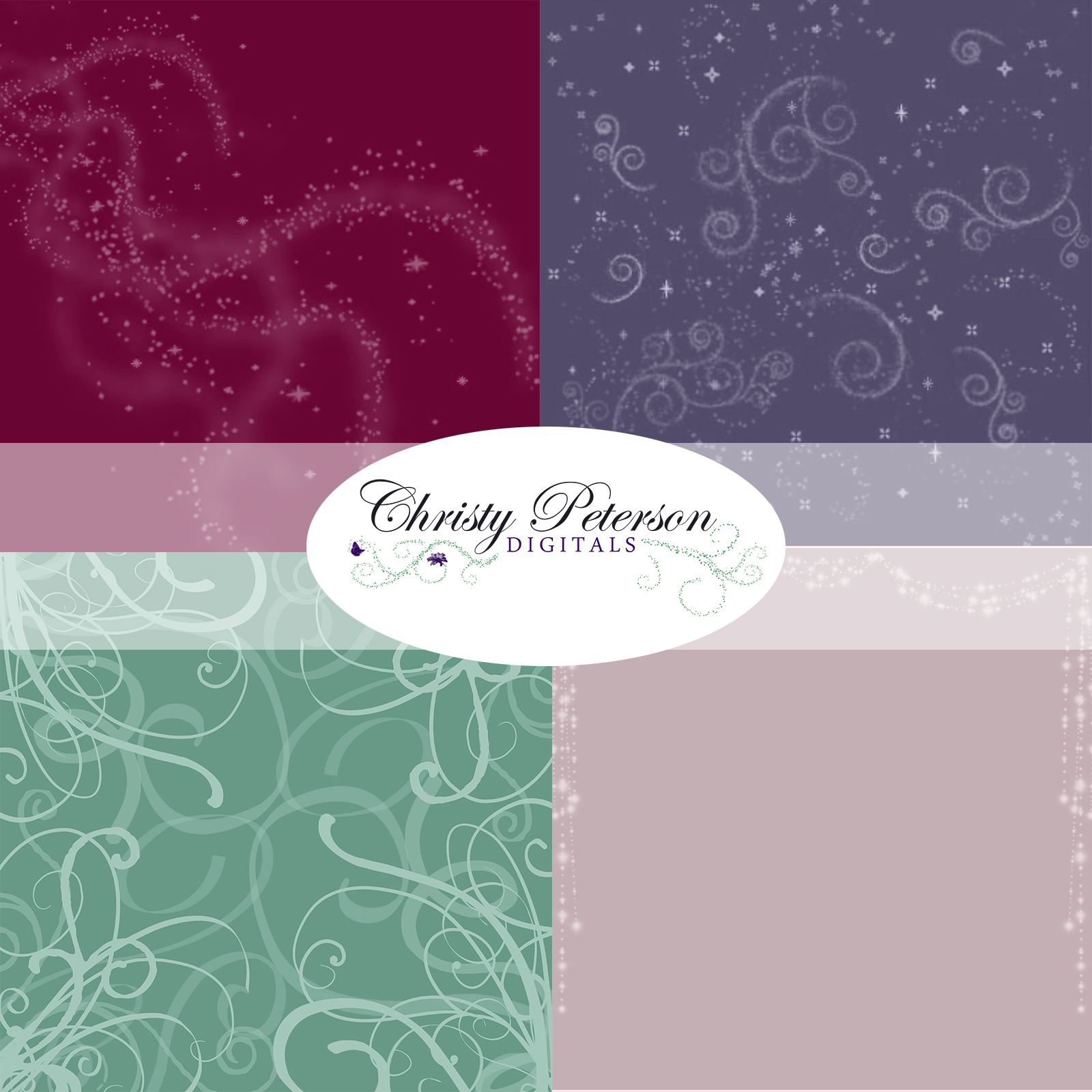 Fullsize Of Digital Scrapbook Paper