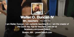 If you're a teacher, FOLLOW THIS MAN!