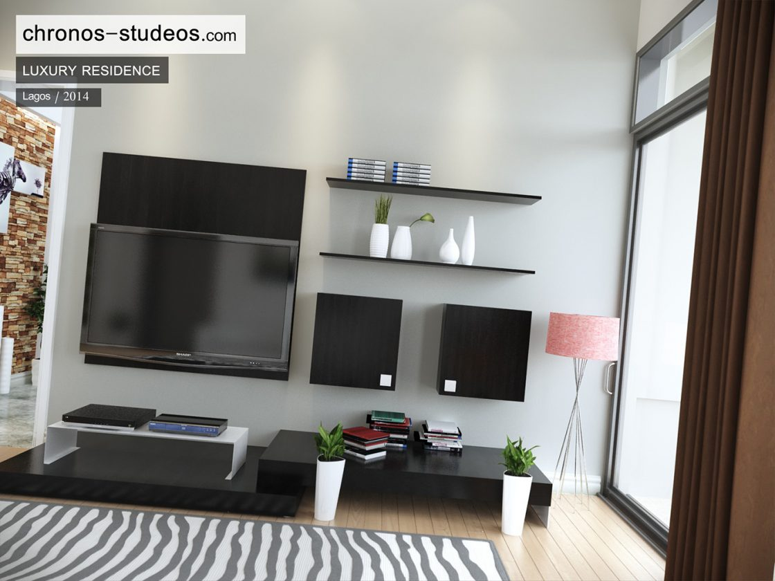 chronos studeos 3d interior living room rendering