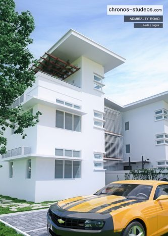 Admiralty-Road-exterior-rendering-3D-visualization-by-Chronos-Studeos-Luxury-Home-Lekki-Lagos-Nigeria