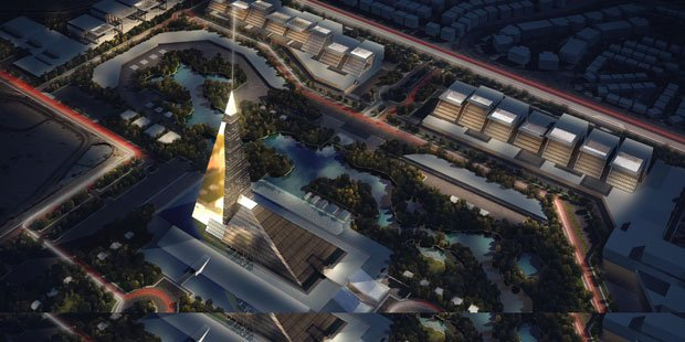 New Skyscraper Honours the Pyramids of Egypt