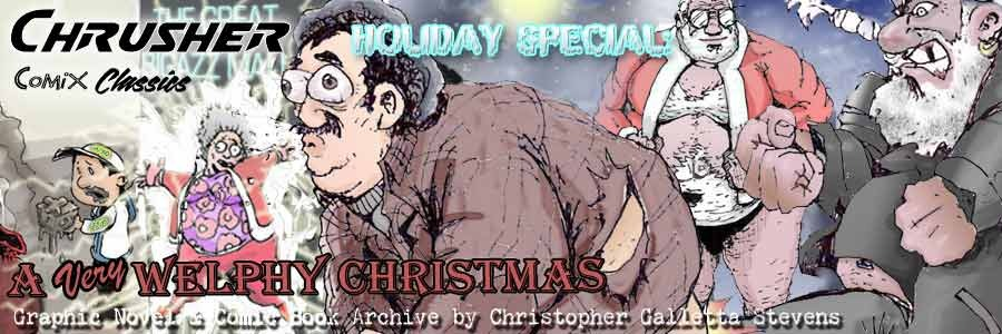 #34 - Holiday Special Annual - A Very Welphy Christmas