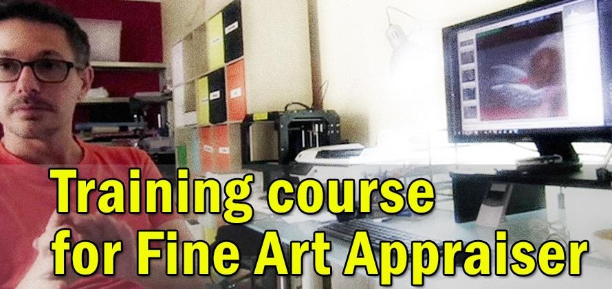 Training course for fine art appraiser