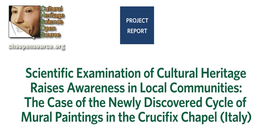 Scientific examination of Cultural Heritage raises awareness in local communities
