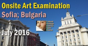 Art Examination in Sofia, Bulgaria