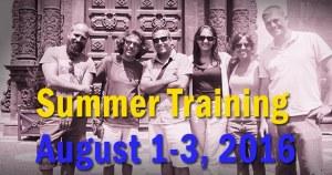 Summer Training 2016 – Low-cost methods for Art Examination