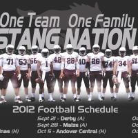 2012 football poster released