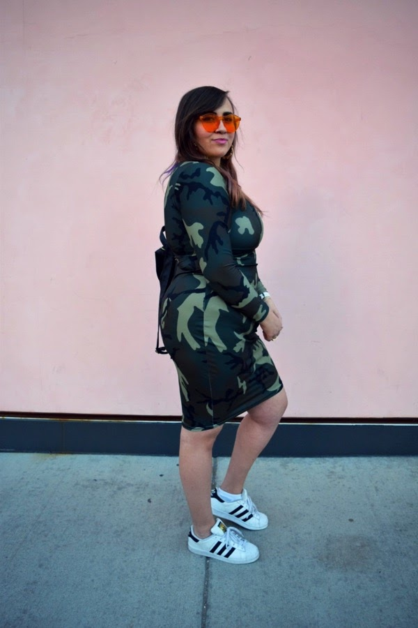 plus size camo outfit