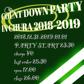 COUNT DOWN PARTY  IN CHURA 2018-2019