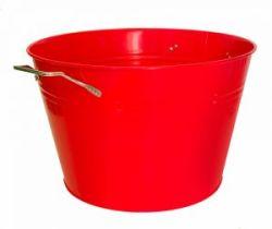 isolated-red-enamel-bucket-1204658-m