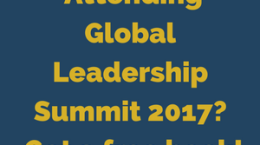 Attending Global Leadership Summit 2017- Get a free book!