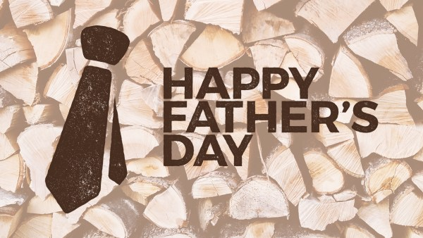 Wooden Father's Day