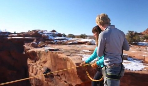 boyfriend-pushes-girlfriend-off-cliff-video