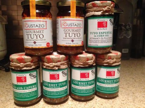 tuyo with capers Gourmet