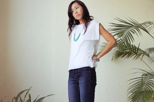 iSanctuary blue necklace & jeans-2