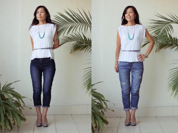 iSanctuary blue necklace & jeans1