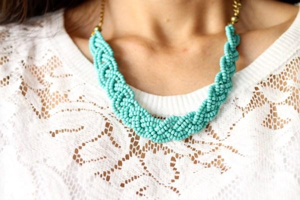 iSanctuary necklace & lace shirt-5