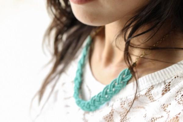 iSanctuary necklace & lace shirt-6