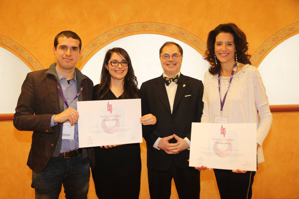 Premiazione Young to young 2015 vinitaly