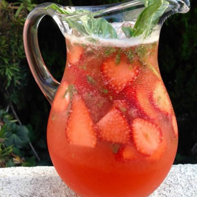 Strawberry Basil Lemonade Recipe