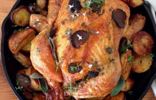 Truffle Chicken & Sage Potatoes