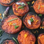 Sweet Potato Rounds with Cinnamon Coconut Sugar