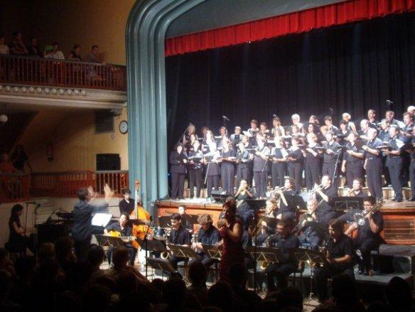Primer concert de ContraBaix a Molins. Foment C. i A. Festa Major 2004