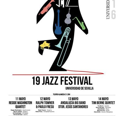 4, 5 Y 6 MAY · 19 JAZZ FESTIVAL · CINE Y JAZZ