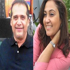 Luis Villamizar y Magda Guadarrama