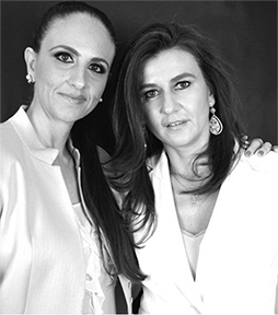 Violeta Zurkan y Raquel Cherem Ades