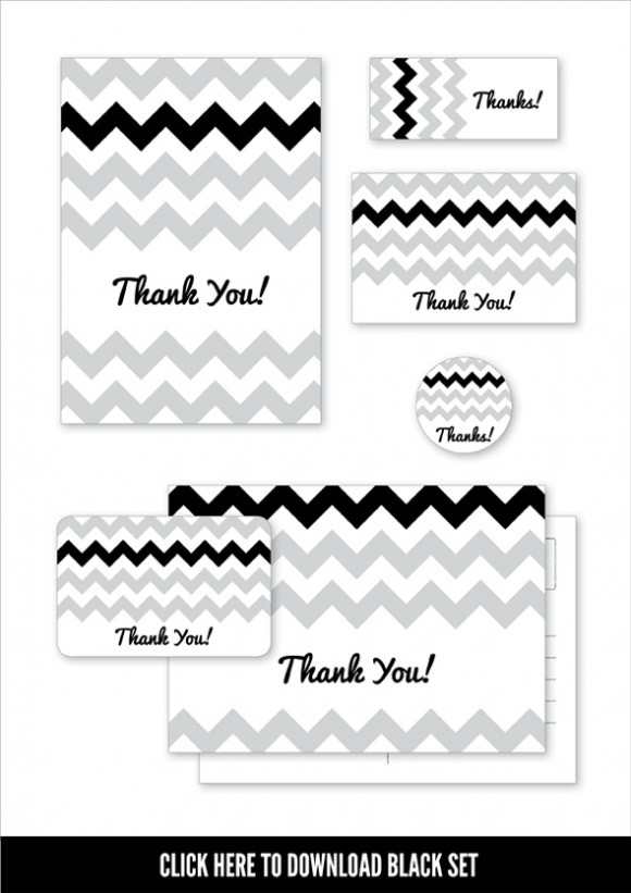 Chevron Moo Designs - Black