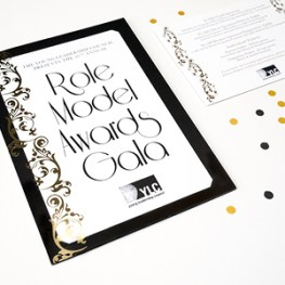 Gatsby Themed Invitation Design