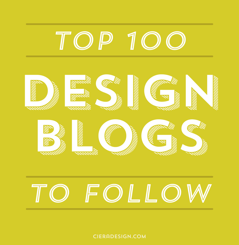 The Top 100 Design Blogs You Should Be Following