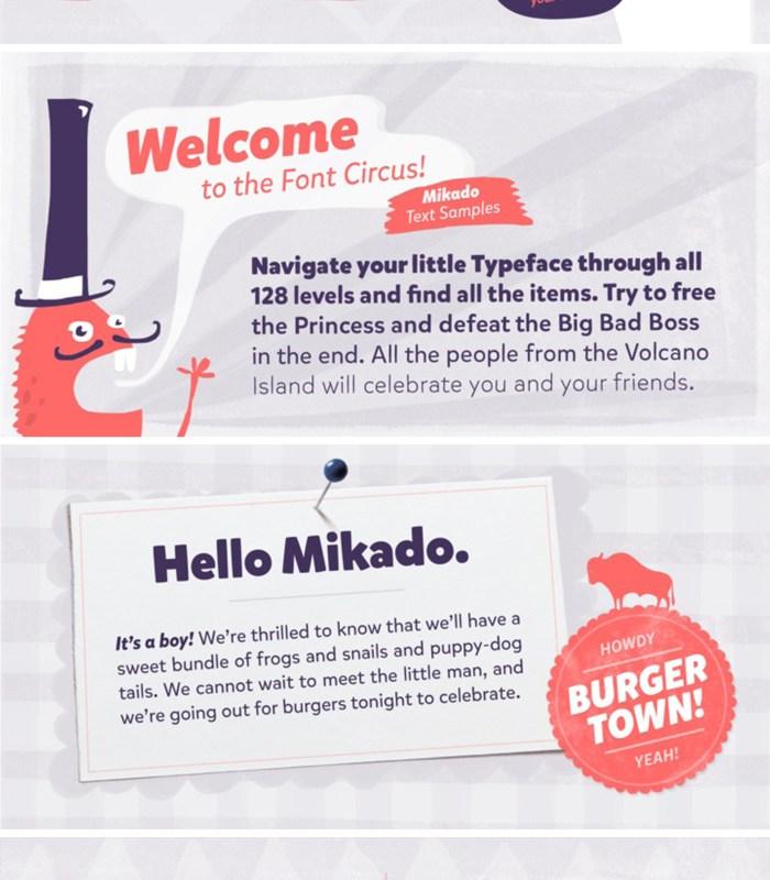 Mikado Font [Friday Favorites]