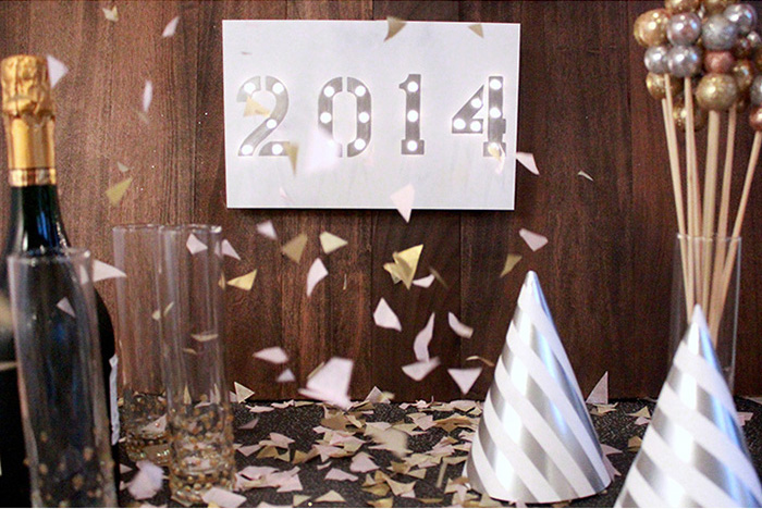 Make Your Own Marquee Sign DIY for New Years Eve