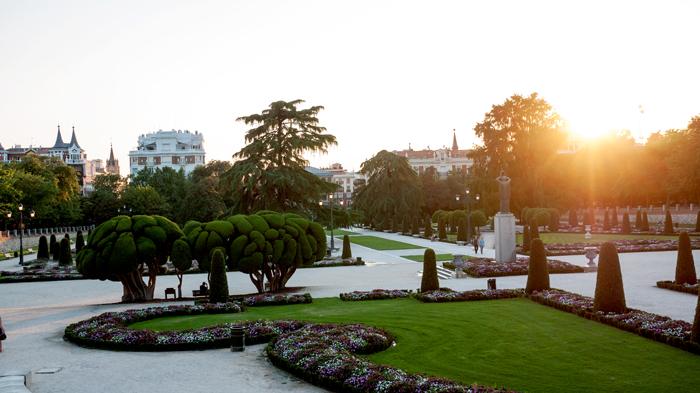 Madrid Spain Parque Del Retiro