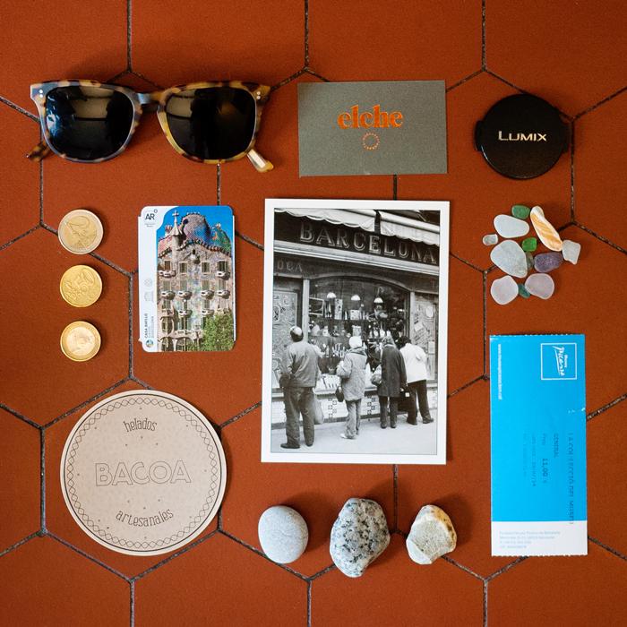 Memorabilia from Barcelona Spain