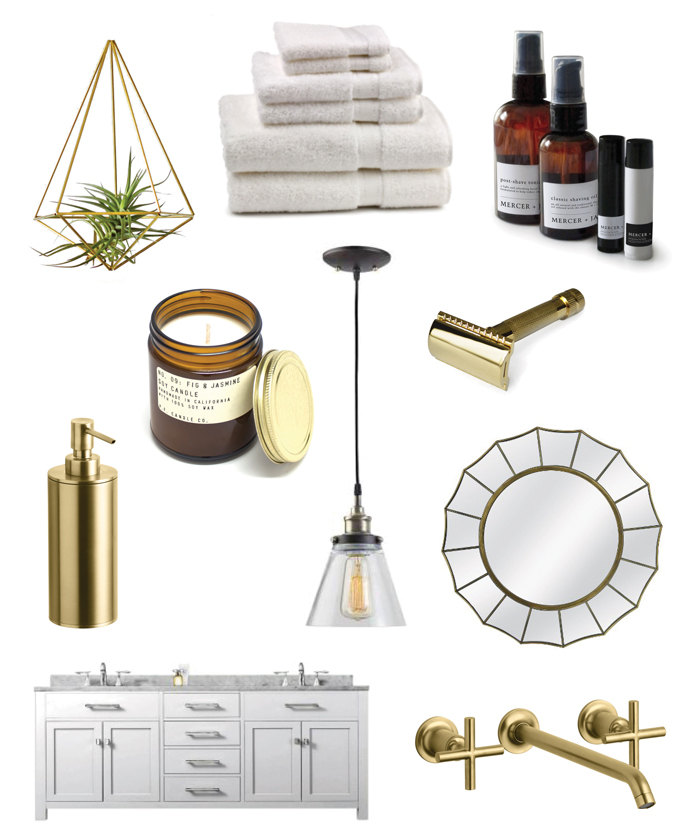 Dream Bathroom Roundup: Decor, Faucets & Skin Care